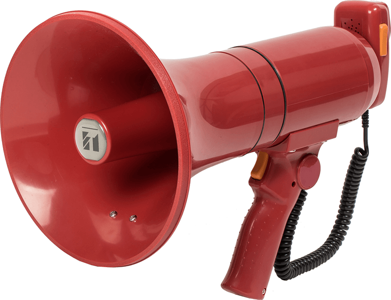 ER-3215S (23W max.) Hand Grip Type Megaphone with Siren Signal