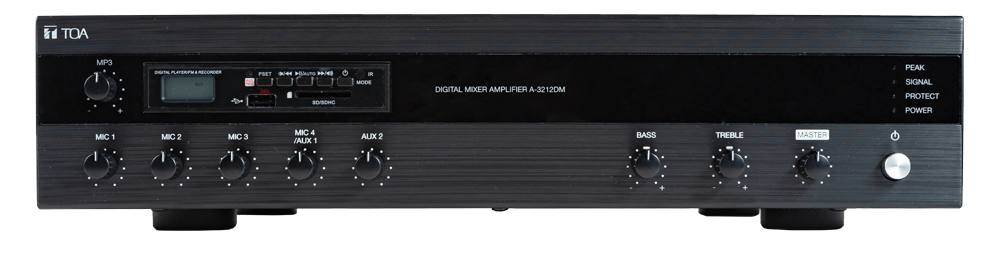 A-3212DM Digital Mixer Amplifier with MP3