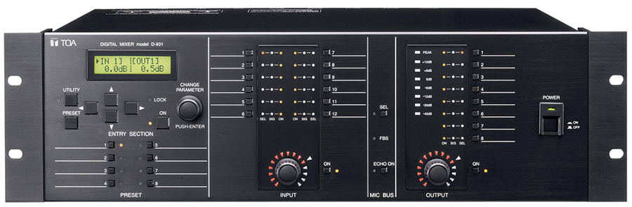 D-901 Digital Mixer