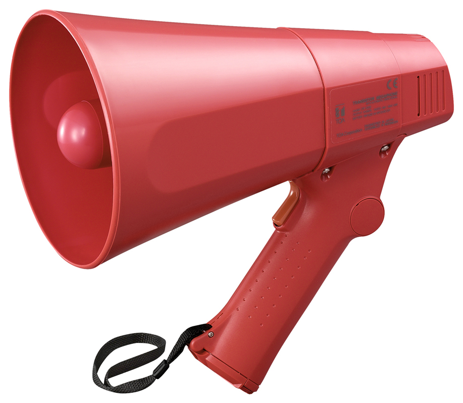 ER-520S (10W max.) Hand Grip Type Megaphone with Siren