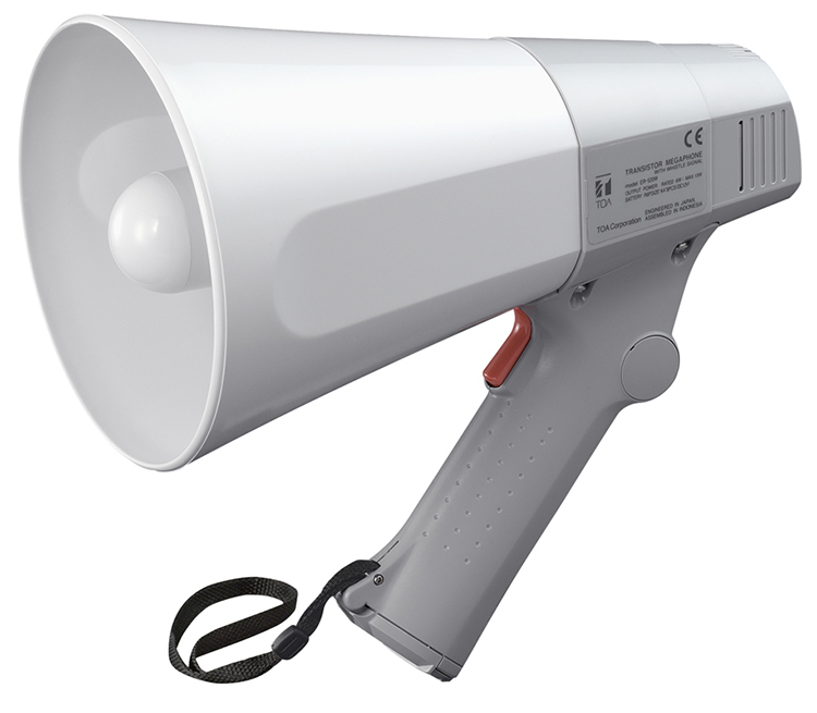ER-520W (10W max.) Hand Grip Type Megaphone with Whistle