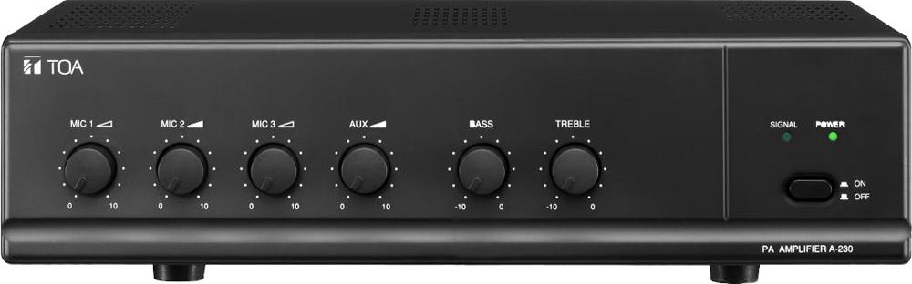 toa electronics m sdn bhd a 230 pa amplifier