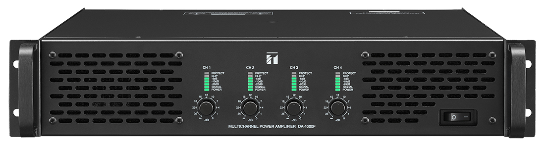 DA-1000 Series MultiChannel Power Amplifiers is now available!!