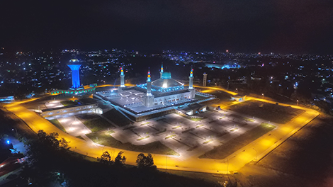 Indonesia: Balikpapan Islamic Center, East Kalimantan